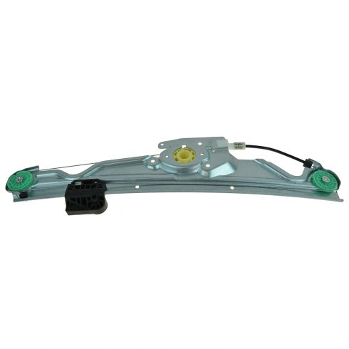 04-10 BMW 5 Series Rear Door Power Window Regulator w/o Motor LR