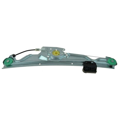04-10 BMW 5 Series Rear Door Power Window Regulator w/o Motor RR