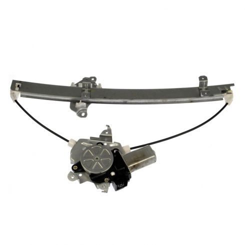 00-01 Infiniti I30; 02-04 I35; 00-03 Maxima Front Door Power Window Regulator w/ (2 Pin) Motor LF