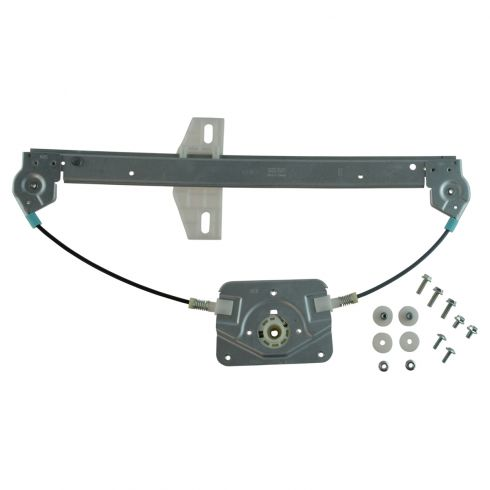 06-12 Audi A3 Rear Door Power Window Regulator w/o Motor LR