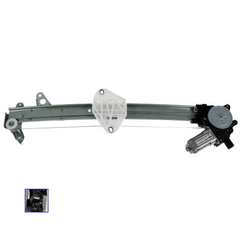 08-13 Honda Accord Sedan Front Door Power Window Regulator w/Motor LF