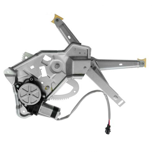 89-95 BMW 525i; 94-95 530i, 540i; 89-93 535i; 91-94 M5 Rear Door Power Window Regulator w/Motor RR