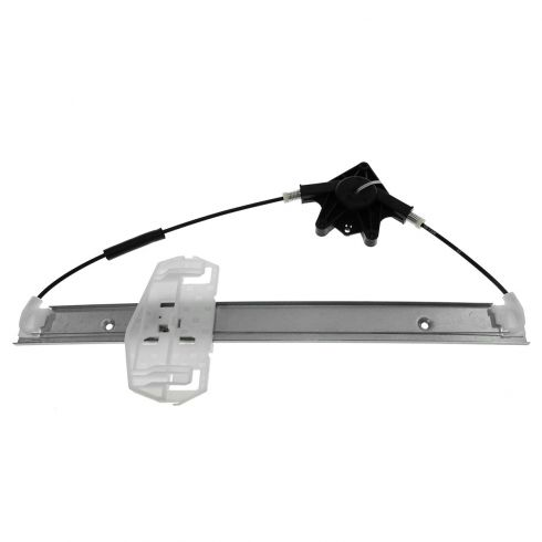07-12 Jeep Wrangler Front Door Power Window Regulator w/o Motor LF