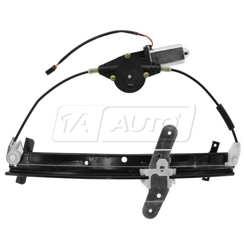 92-11 Crown Vic Front Door Window Reg W/motor RF