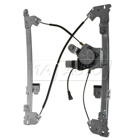 04-08 Ford F150 Reg & Crew Cab Power Window Regulator w/Motor LF