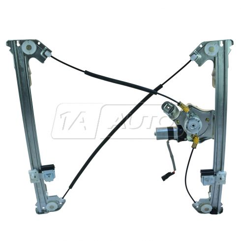 04-08 Ford F150 Super Cab Power Window Regulator w/Motor RF