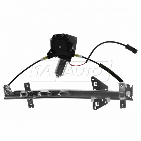 98-03 Dodge Durango; 00-04 Dakota Quad Cab Window Regulator w/Mtr LR