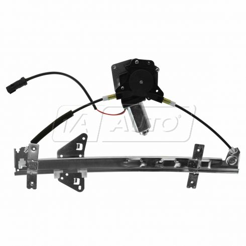 98-03 Dodge Durango; 00-04 Dakota Quad Cab Window Regulator w/Mtr RR