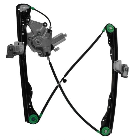 01-07 Ford Focus 4dr Pwr Window Regulator w/Mtr RF (HQ)