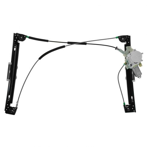02-05 (thru 6/1/05) Mini Cooper Power Window Regulator w/Motor LF