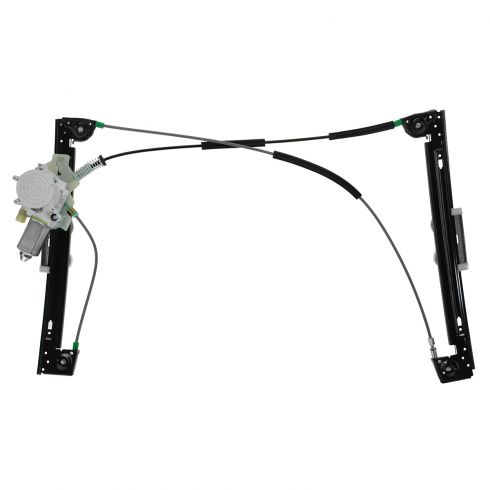 02-05 (thru 6/1/05) Mini Cooper Power Window Regulator w/Motor RF
