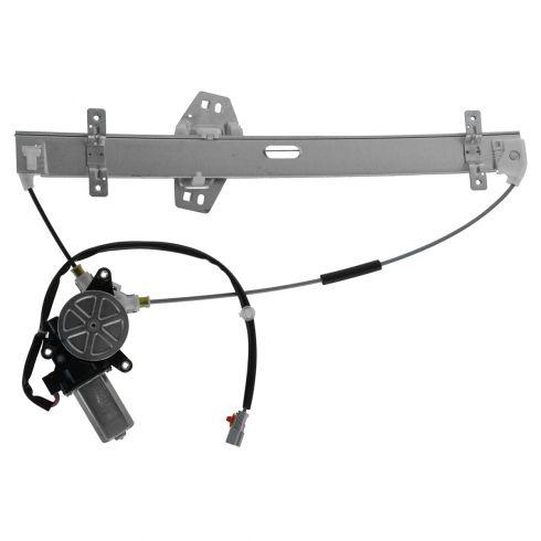 01-02 Acura MDX Front Door Power Window Regulator w/4 Pin Motor LF