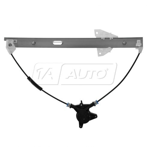 04-09 Mazda 3 Power Window Regulator w/o Motor RF