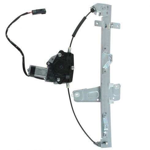00 (from 3/10/00)-04 Grand Cherokee Window Regulator w/ Motor RF (Dorman)