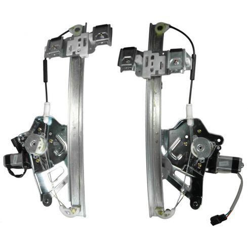 2000-05 Buick Lesabre Power Window Regulator Pair Front