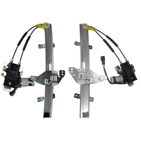 1997-03 Pontiac Grand Prix 4dr Power Window Regulator Pair Front