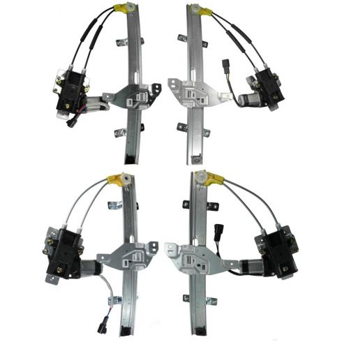 1997-03 Pontiac Grand Prix 4dr Power Window Regulator Set 4 piece