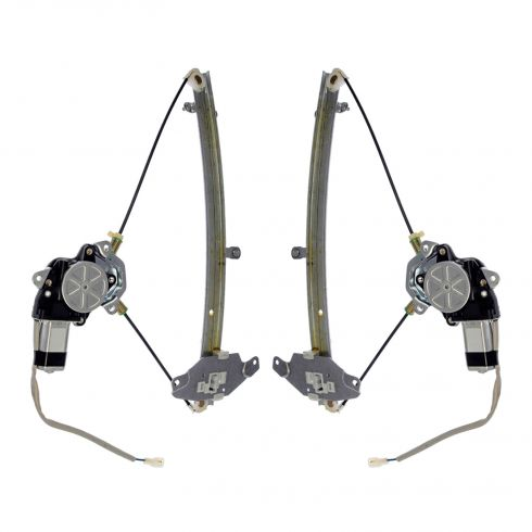 1994-96 Toyota Camry 2dr Power Window Regulator Pair