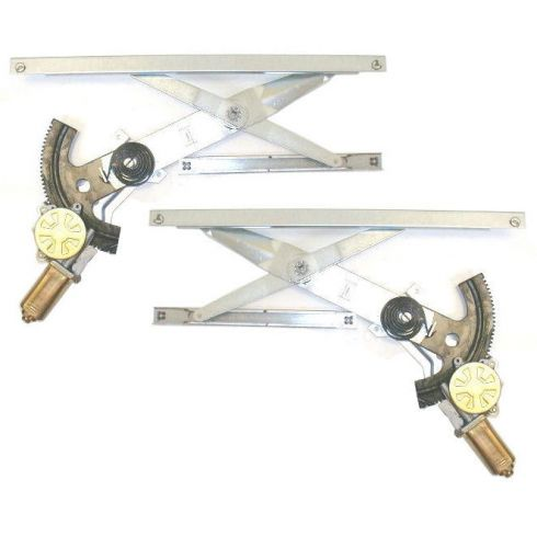1992-98 Skylark Achieva Grand Am 2dr Window Regulator With Motor Pair