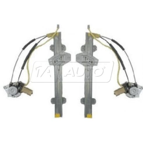 Power Window Regulator w/Motor LF