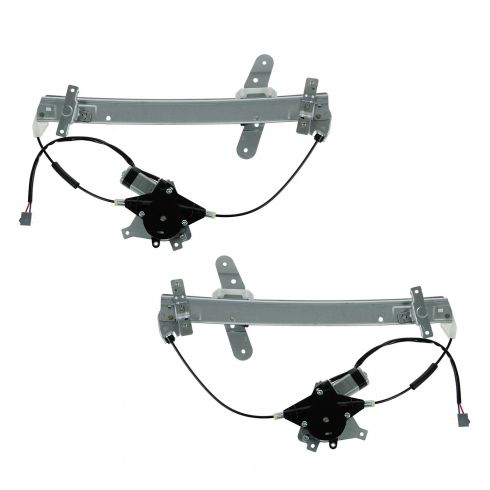 92-11 Crown Vic Front Door Window Reg W/motor Front Pair