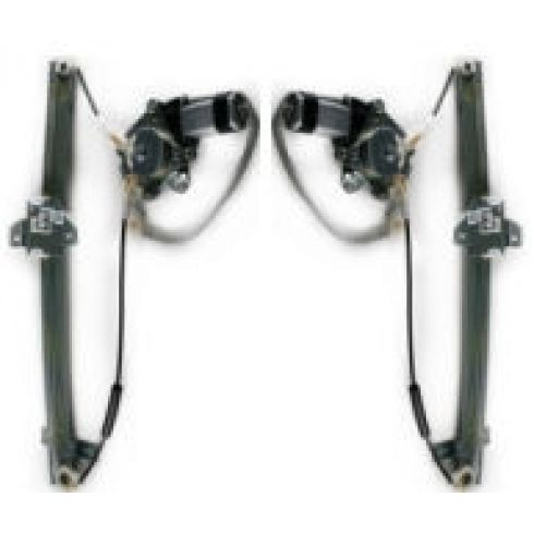 Rear Driver Side Power Window Regulator