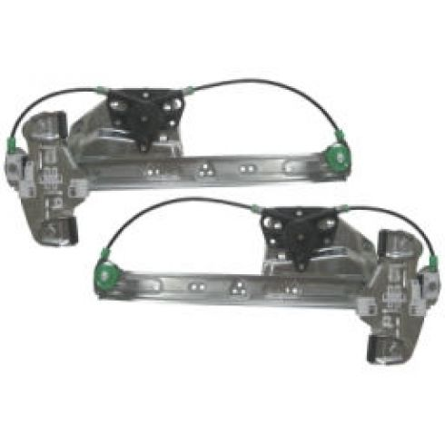 Power Window Regulator Driver Side Rear