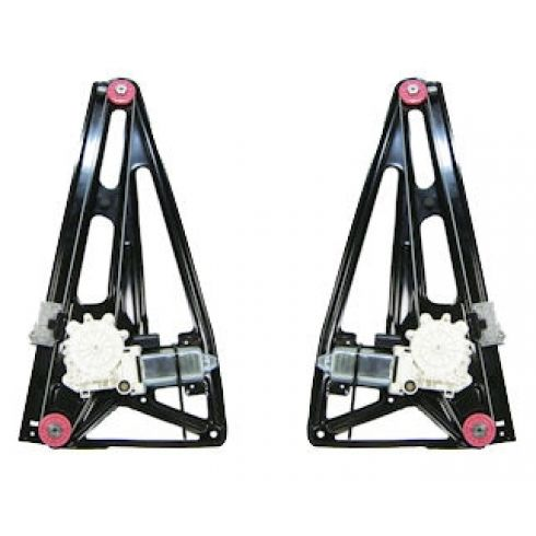 Power Window Regulator With Motor Rear Driver Side