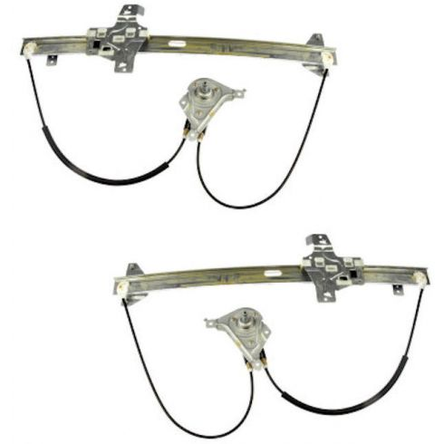 92-06 Ford Econoline Van Manual Window Regulator Pair