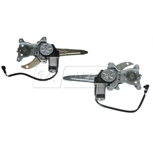 95-98 Toyota Tercel Window Regulator w/Motor Rear Pair
