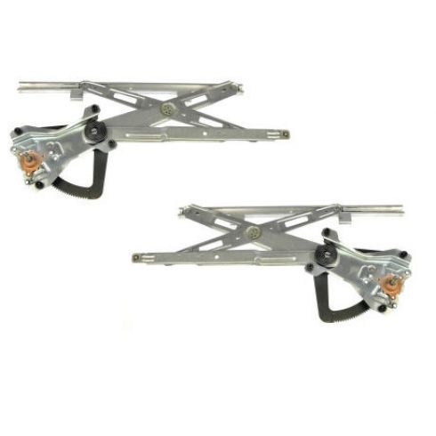 97-02 Saturn SC Series Coupe Manual Window Regulator Pair