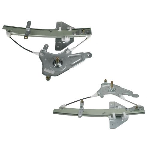 99-04 Pontiac Grand Am Olds Alero Manual Window Regulator Pair
