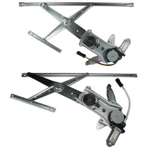 2001-06 Chrysler Sebring Conv Power Window Regulator w/Motor PAIR