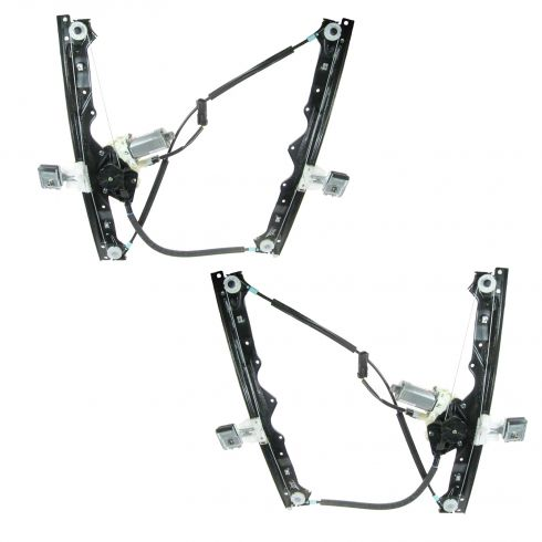 05 Jeep Grand Cherokee Power Window Regulator w/Motor PAIR