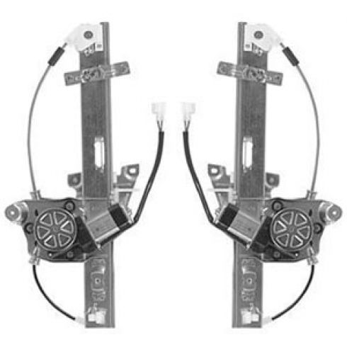 95-02 Mazda Millenia Power Window Regulator w/Motor PAIR