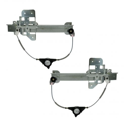 95-97 Lincoln Towncar Window Regulator w/o motr PAIR