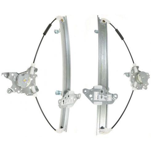 98-01 Altima Window Regulator W/O Motor PAIR