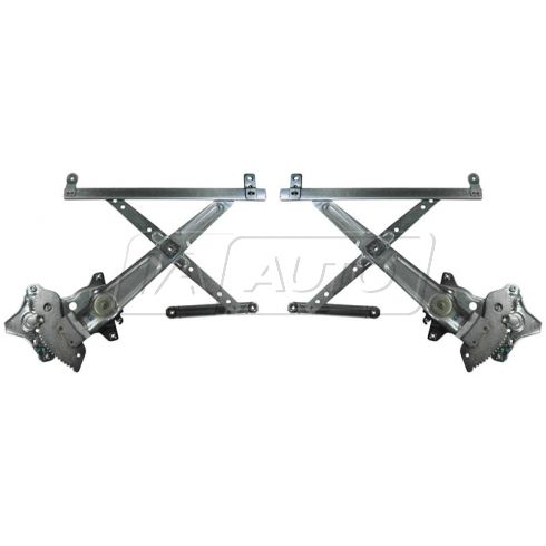 87-91 Camry Window Regulator W/O Motor PAIR