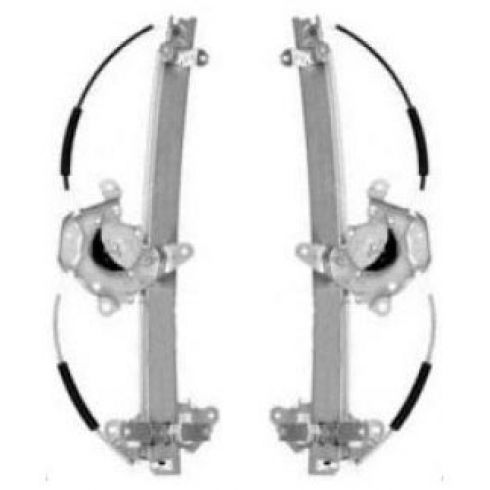 95-99 Sentra 4dr Window Regulator w/o Motor PAIR