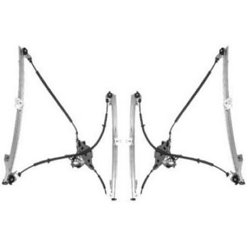96-00 Dodge Caravan Manual Window Regulator PAIR