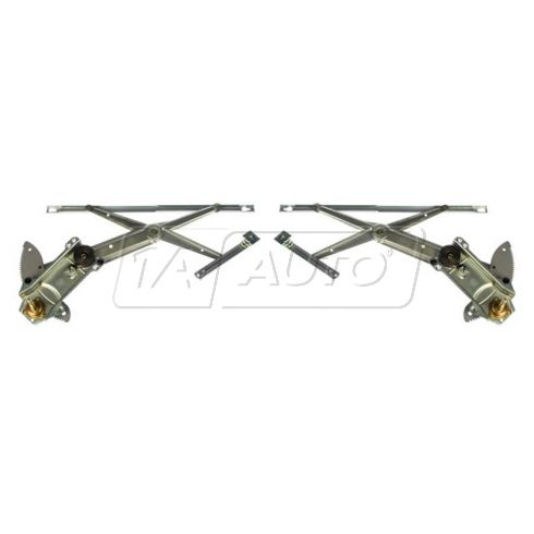 1993-94 Jeep Grand Cherokee Manual Window Regulator PAIR