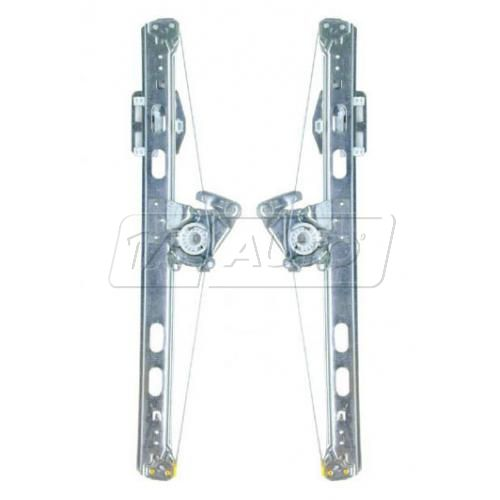 98-02 Mercedes ML Class Power Window Regulator w/o Motor PAIR