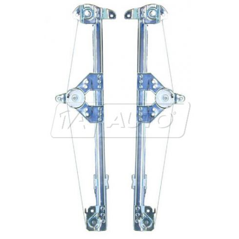 1994-97 Mercedes W202 C Class Power Window Regulator w/o Motor PAIR