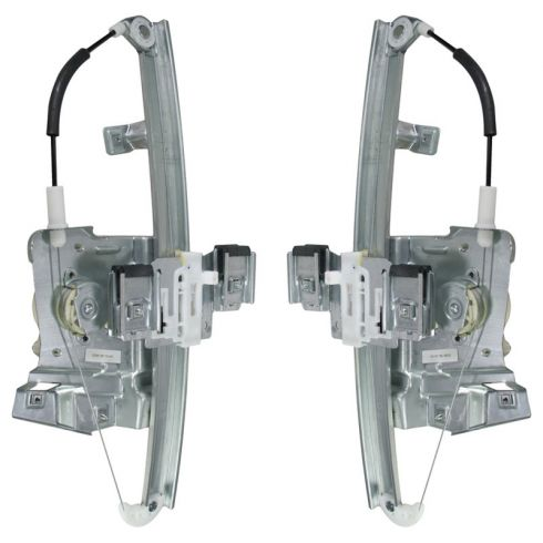 2006-10 Buick Lucerne Power Window Regulator w/Motor PAIR