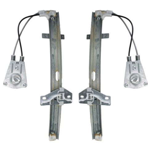 1990-93 Honda Accord Manual Window Regulator PAIR