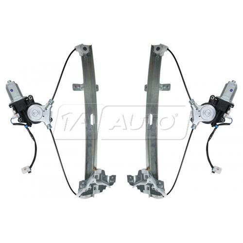 04-08 Acura TSX Power Window Regulator w/Motor PAIR