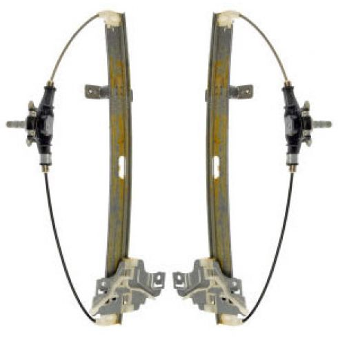98-04 Isuzu Rodeo Manual Window Regulator PAIR