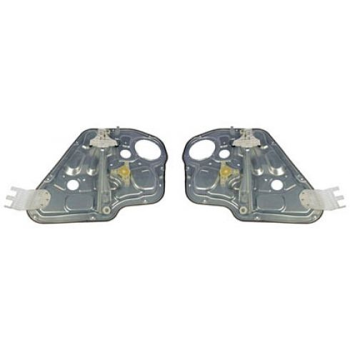 2009-10 Kia Borrego Power Window Regulator w/o Motor Rear PAIR