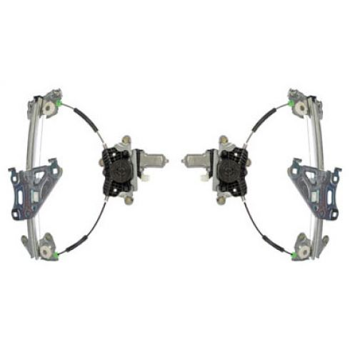 2010-11 Kia Forte Coupe Power Window Regulator w/Motor PAIR