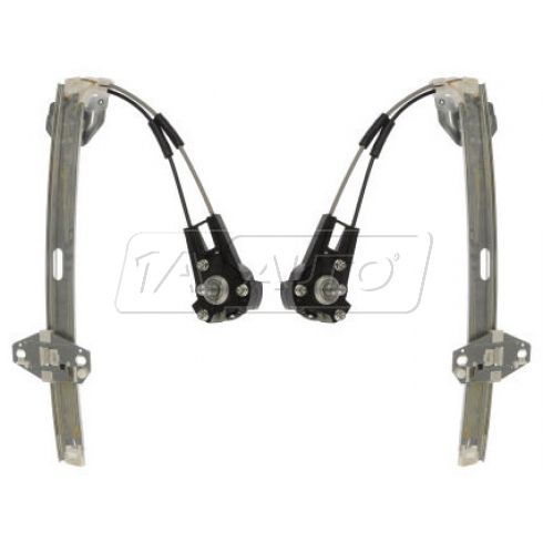 1988-91 Honda Civic Manual Window Regulator Rear PAIR